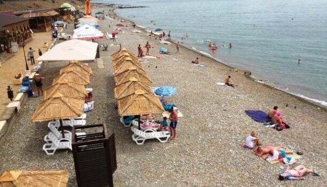 Вардане, гостевой дом Натали - пляж