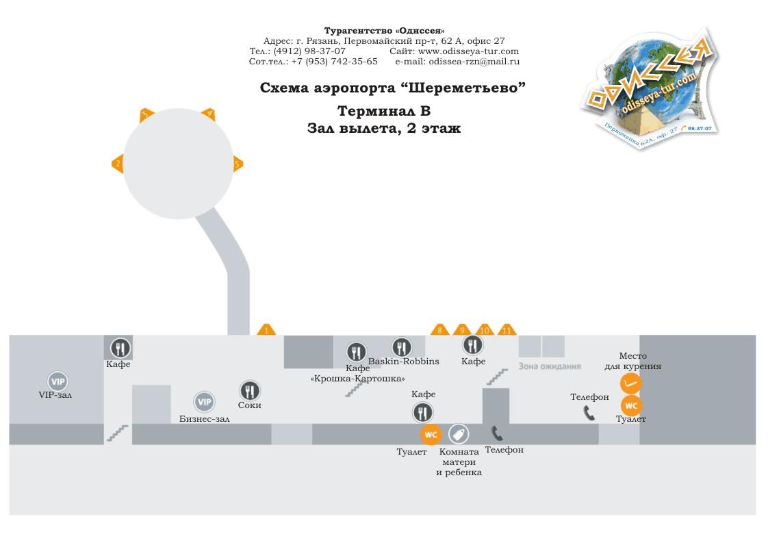 Подробные схемы терминалов.