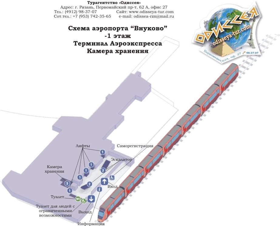 -1 этаж, терминал