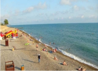 "Гостиница ""Варна"" - пляж"